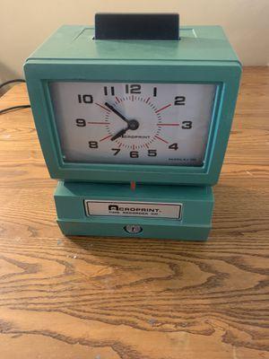 Acroprint time recorder for Sale in Chesapeake, VA