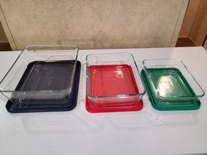 Pyrex 6 piece storage set for Sale in Adkins, TX