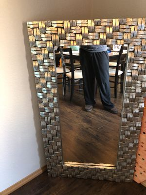 Wall/floor mirror for Sale in Lacey, WA