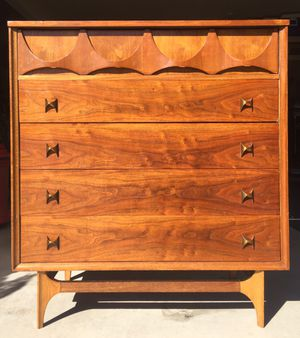 Broyhill Brasilia High Dresser MCM Mid Century for Sale in Austin, TX