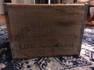 Vintage 1972 7Up Wood Crate for Sale in CA, US