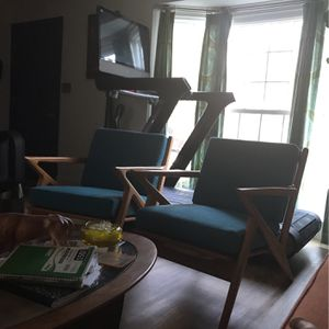Mid Century Modern Pair Of Chairs for Sale in Atlanta, GA