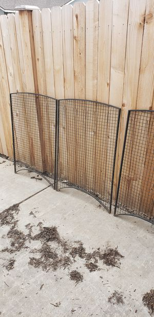 Vintage 1900s iron security screens for Sale in Prineville, OR