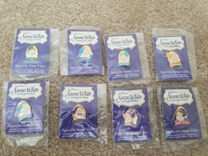 Disney Snow White Collector Pins - Complete Set for Sale in Durham, NC