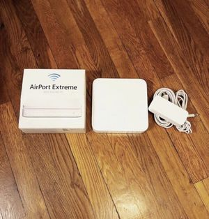 Apple Airport Extreme 802.11n Excellent condition only used once. for Sale in Washington, DC