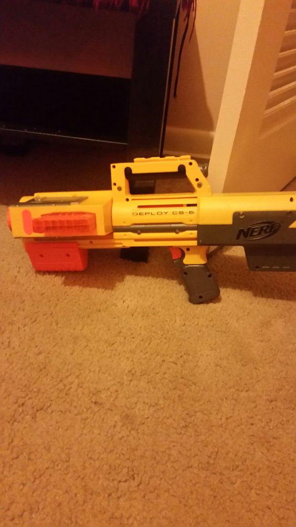 Deploy CS-6 Nerf Gun
