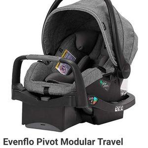 Evenflo Pivot Modular Travel System Safemax Infant Seat for Sale in Vista, CA