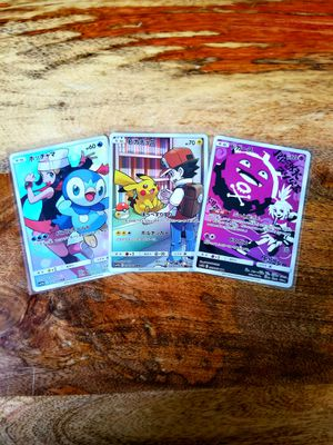 Pokemon Japanese Dream League Card Lot of 7 MINT CONDITION for Sale in Lincoln Acres, CA
