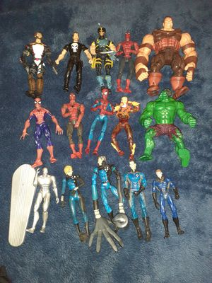 Marvel figures loy for Sale in Redlands, CA