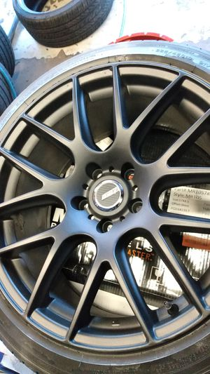 4 WHEELS 18 INCH 5X114.3/ 5X4.5 for Sale in Spring Valley, CA
