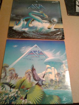 ASIA Albums 1&2 1982-1983 for Sale in Lakeland, FL