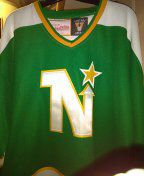 Like new ALL stitched Minnesota north stars hockey jersey excellent condition size 52 $55 o.b.o for Sale in Philadelphia, PA