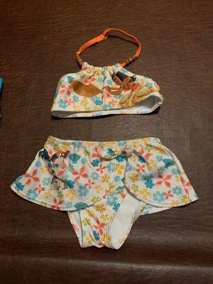 Girls 4t 2 piece bathing suit moana for Sale in Riverside, CA