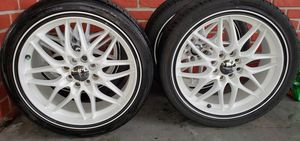 Rims and tires 205/40R17 for Sale in NEW PRT RCHY, FL