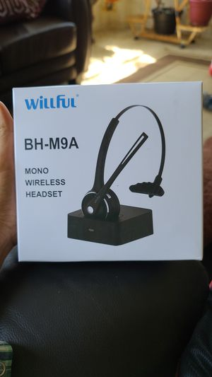 Willful wireless headset for Sale in Centennial, CO