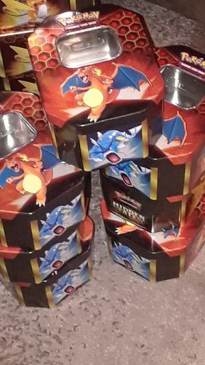 Collectable Pokemon Card Tins for Sale in Las Vegas, NV