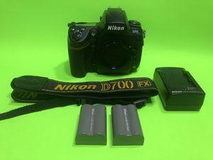 Nikon D700 FULL FRAME DSLR Camera Body. for Sale in Fort Lauderdale, FL