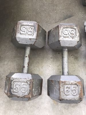 Dumbbells 65LBS for Sale in Orlando, FL