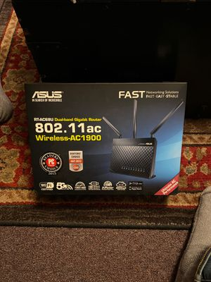 Asus dual-band wireless gig router for Sale in Seattle, WA