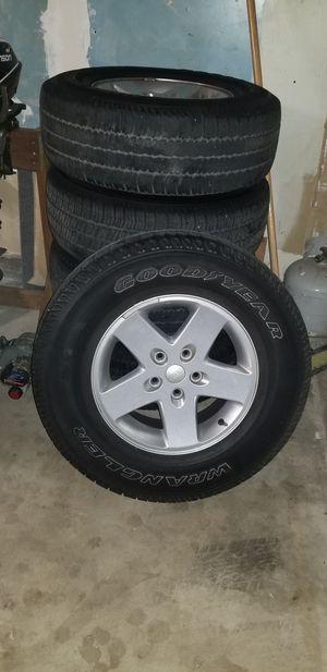 Jeep Wrangler Wheels for Sale in Modesto, CA