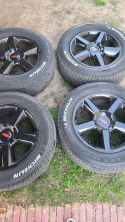 """20"""" Stock Chevy Rims and Tires for Sale in San Antonio,  TX"""