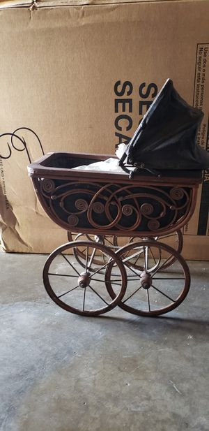 Antique baby doll stroller for Sale in Bellflower, CA