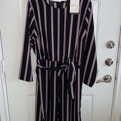 Striped Wide Leg Jumpsuit for Sale in Dallas,  TX