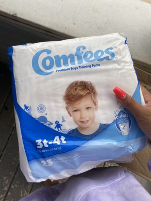 Boys training diapers for Sale in Central Falls, RI