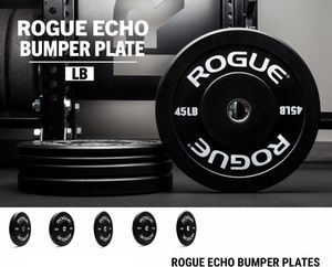 Rogue Fitness Echo Bumper Plates for Sale in Plainfield, IL