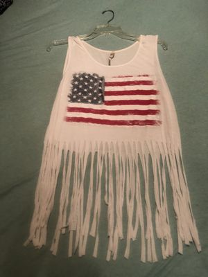 Fringe 4th of July Tank top for Sale in Fayetteville, AR