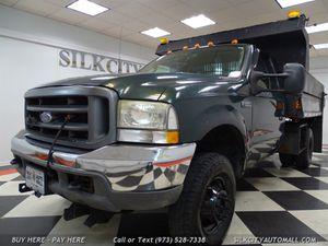 2003 Ford F-350 SD 4x4 Diesel Mason Dump Truck for Sale in Paterson, NJ