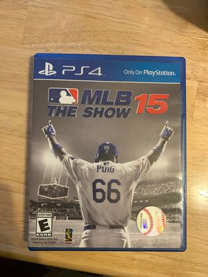 MLB The Show 15 for Sale in Puyallup, WA