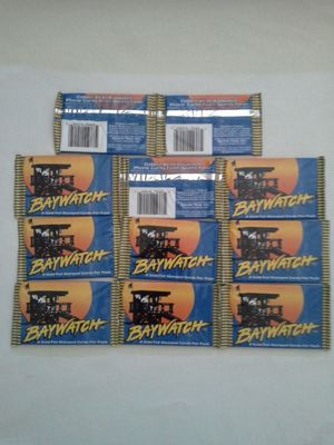 TV Series Baywatch 1995 Trading Cards Packs 9 Cards Per Pack New All For $30 for Sale in Reedley, CA