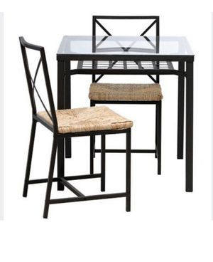 Desk / dining table + 2 chairs for Sale in Washington, DC