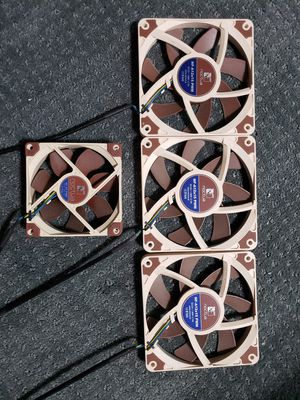 Noctua NF-A12x15 Slim 120mm Fans, Set of 3 for Sale in Upland, CA