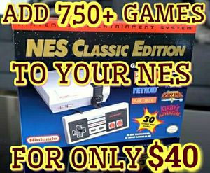NES Classic Edition 750 + GAMES MODDING MODDED MOD Nintendo + RESET & TURBO - $40 (Palatine) SNES for Sale in Palatine, IL