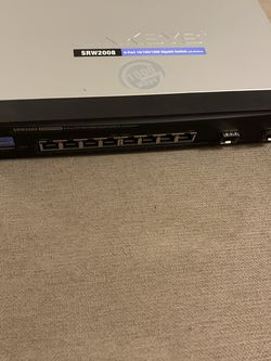 Linksys SRW2008 8 port gigabit switch for Sale in Portland,  OR