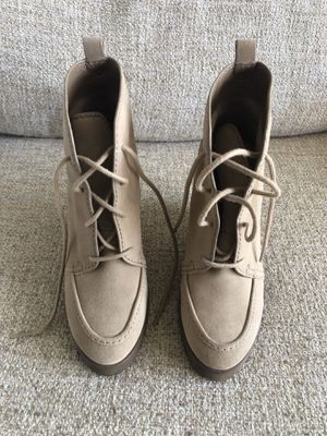 MICHAEL Michael Kors Lace-Up Booties (size 6.5) for Sale in Santa Monica, CA