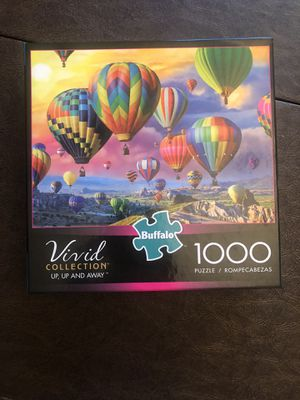 Jigsaw Puzzle Buffalo Games 1000 piece for Sale in San Diego, CA