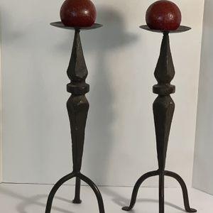 Hacienda Wrought Iron Candle Holders for Sale in Katy, TX