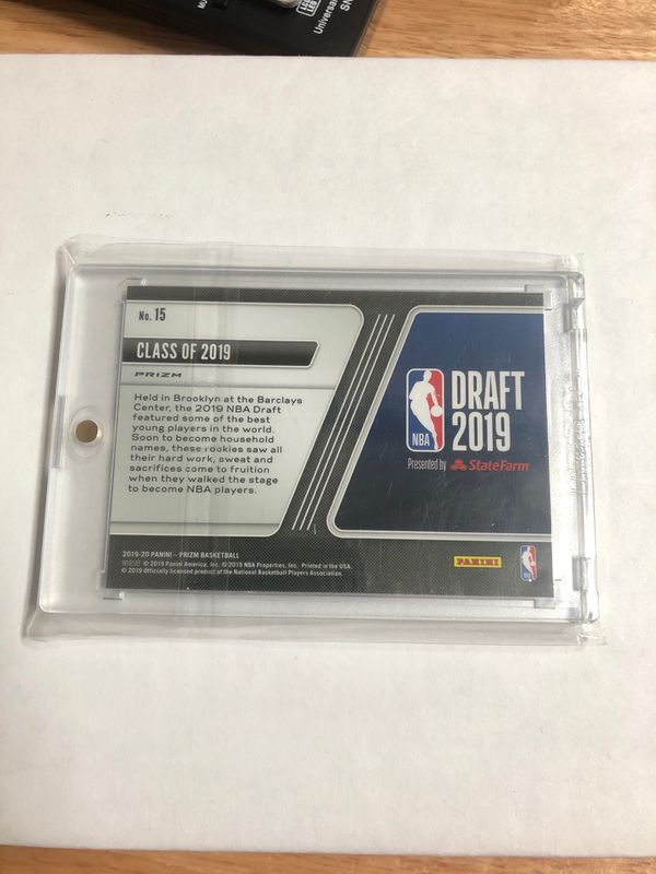 19-20 Prizm Fast Break Draft 2019 Luck Of The Lottery