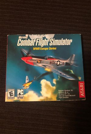 Microsoft Combat Flight Simulator WW2 Europe Series Cd-rom for Sale in Grand Rapids, MI
