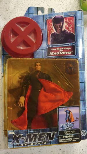 Magneto Action Figure (Ian McKellan) X-Men The Movie for Sale in Austin, TX