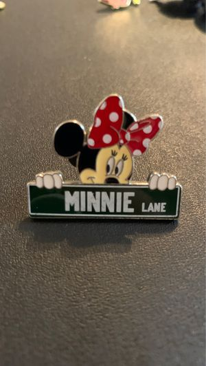 Disney Official Trading Pin Minnie Lane Street Sign for Sale in Davenport, FL