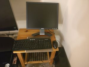 EMachines computer and keyboard, Dell computer screen for Sale in US