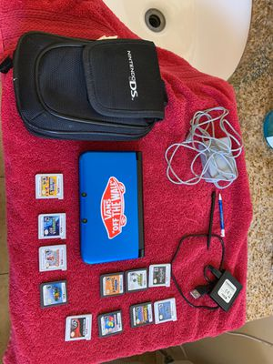 Nintendo 3DS with games for Sale in Placentia, CA