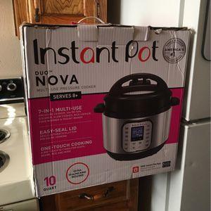 Instapot Duo Nova 10 Quart for Sale in Denton, TX