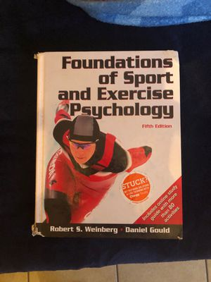 Exercise psychology complete book for Sale in Chico, CA