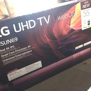 Brand new 2020 55 inch LG 4K Smart tv with webOS for Sale in Las Vegas, NV