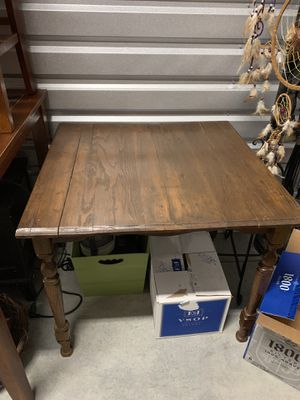 Antique wood table 32 x 32 x 30 tall..perfect for any room in your home. for Sale in La Vergne, TN
